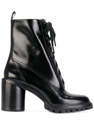 Ботинки на шнуровке Marc Jacobs. Цвет: белый