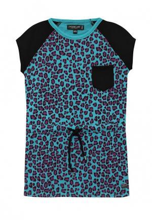 Платье Jacob Lee. Цвет: синий