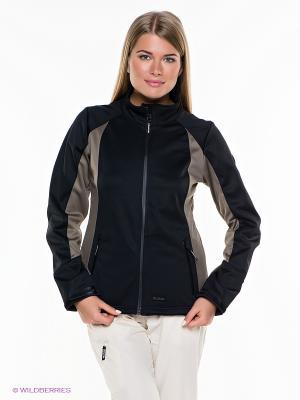 Куртка IGUANA. Цвет: черный, серый
