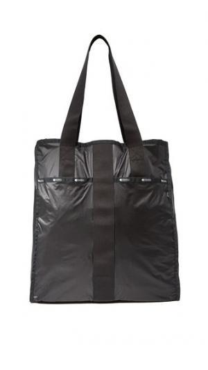 Большая объемная сумка с короткими ручками City LeSportsac
