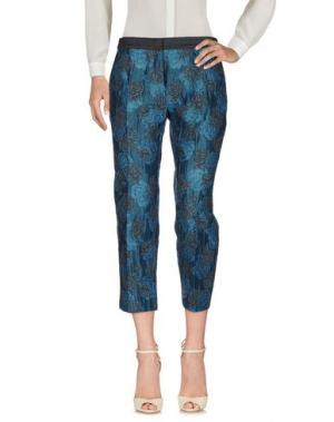 Повседневные брюки E-GÓ. Цвет: грифельно-синий