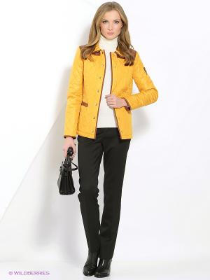 Куртка КАЛIНКА. Цвет: оранжевый