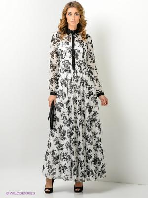 Платье Xarizmas. Цвет: черный, белый