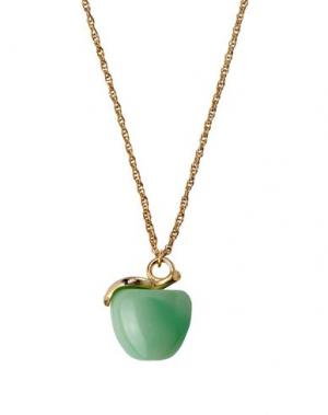 Ожерелье KENNETH JAY LANE. Цвет: зеленый