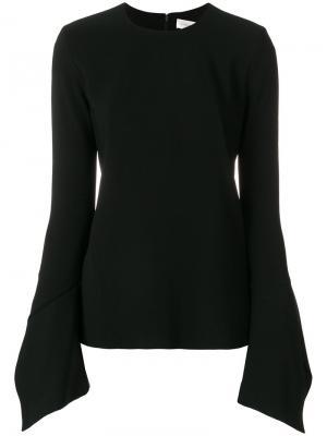 Bell sleeves blouse Victoria Beckham. Цвет: чёрный