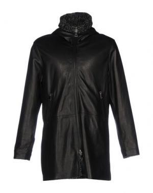 Легкое пальто DACUTE. Цвет: черный