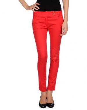 Повседневные брюки OLLY DOO. Цвет: красный