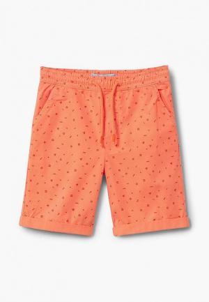 Шорты Mango Kids. Цвет: оранжевый