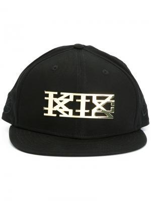 Кепка с логотипом KTZ. Цвет: чёрный
