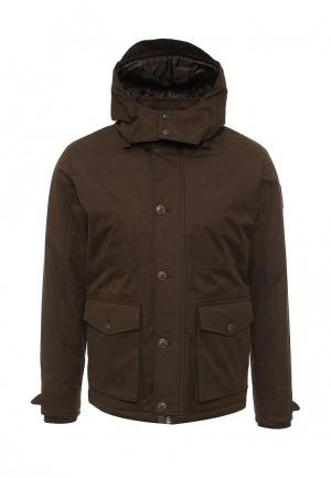 Куртка утепленная Bomboogie. Цвет: коричневый