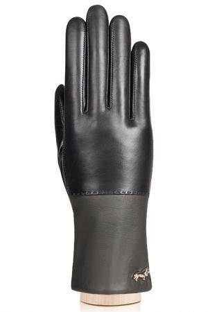 Перчатки Labbra. Цвет: черный, оливковый