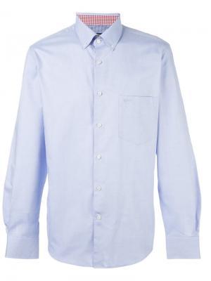 Классическая рубашка Paul & Shark. Цвет: синий