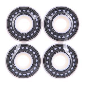 Колеса для скейтборда NORD Skateboards  Wheels White 101A 51 mm. Цвет: белый,серый