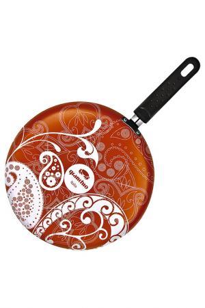 Блинная сковорода Ornamento Granchio. Цвет: оранжевый
