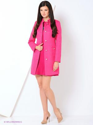 Пальто Shokolat. Цвет: розовый