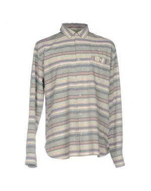 Pубашка WHISTLES. Цвет: светло-серый