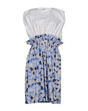 Платье длиной 3/4 ARTHUR ARBESSER. Цвет: белый