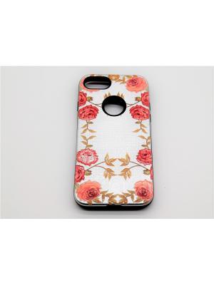 Чехол для iPhone 7 JD.ZARZIS. Цвет: белый, розовый