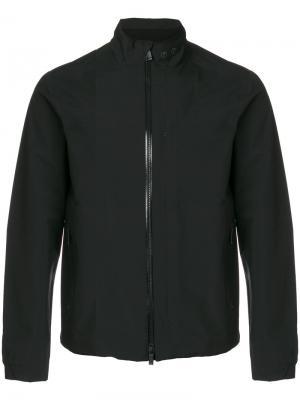 Куртка на молнии Z Zegna. Цвет: чёрный