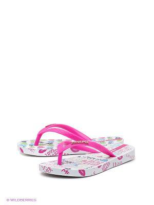 Пантолеты Ipanema. Цвет: розовый, белый