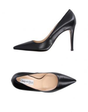 Туфли GIAMPAOLO VIOZZI. Цвет: черный