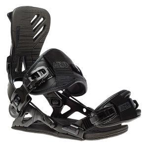 Крепления для сноуборда  Freedom Bind Black GNU. Цвет: черный