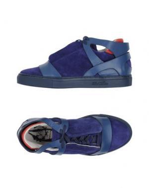 Высокие кеды и кроссовки DEL TORO. Цвет: темно-синий