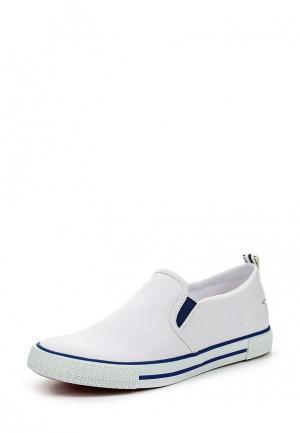 Слипоны Trussardi Jeans. Цвет: белый