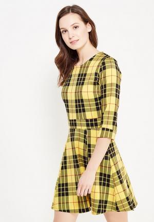 Платье Aurora Firenze. Цвет: желтый