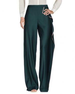 Повседневные брюки VIONNET. Цвет: зеленый