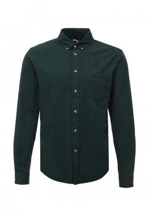 Рубашка Modis. Цвет: зеленый