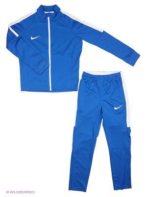 Спортивный костюм Y NK DRY ACDMY TRK SUIT K Nike. Цвет: синий