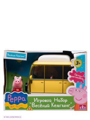 Игровой набор Веселый кемпинг, Свинка Пеппа Peppa Pig. Цвет: желтый