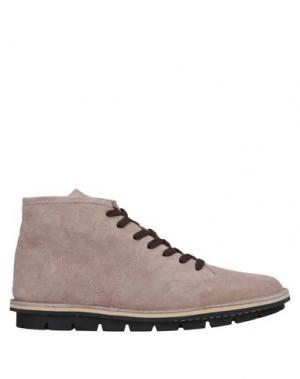 Полусапоги и высокие ботинки LEREWS. Цвет: светло-розовый