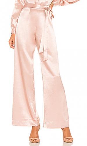 Широкие брюки celine LAcademie L'Academie. Цвет: rose