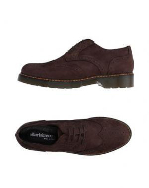 Обувь на шнурках ALBERTO BRESSAN. Цвет: темно-коричневый