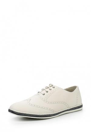 Ботинки Pezatti. Цвет: белый
