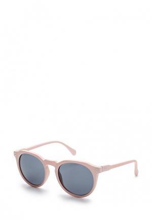 Очки солнцезащитные Topman. Цвет: розовый