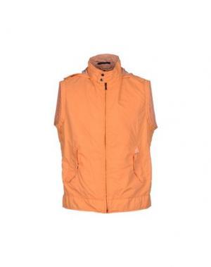 Куртка CALVARESI. Цвет: оранжевый