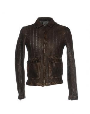 Куртка SALVATORE SANTORO. Цвет: темно-коричневый