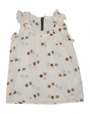 Блузка MANILA GRACE. Цвет: белый