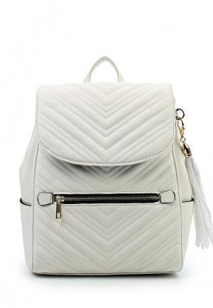 Рюкзак Miss Selfridge. Цвет: белый