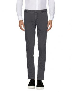 Повседневные брюки ..,BEAUCOUP. Цвет: свинцово-серый