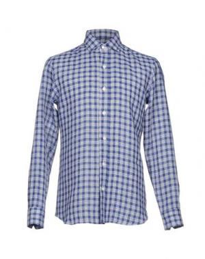 Pубашка SALVATORE PICCOLO. Цвет: темно-синий