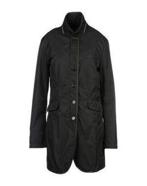 Легкое пальто MABRUN. Цвет: стальной серый