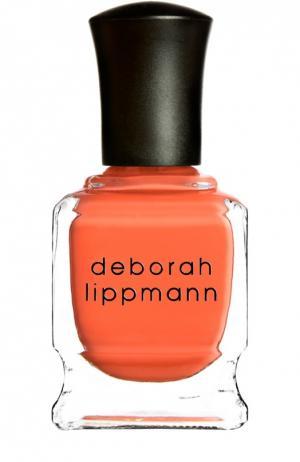 Лак для ногтей Lara`s me Deborah Lippmann. Цвет: бесцветный