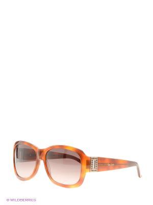 Солнцезащитные очки Pierre Cardin. Цвет: рыжий, черный
