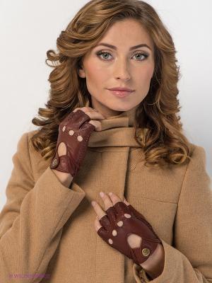 Митенки Eleganzza. Цвет: коричневый