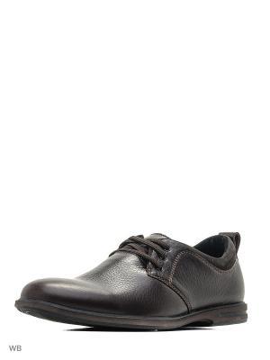 Ботинки Hardline. Цвет: коричневый, темно-коричневый