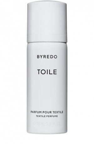Парфюмерная вода для текстиля Toile Byredo. Цвет: бесцветный